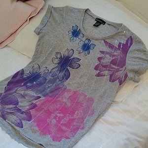 (3/$10)  Soft short sleeve gray t-shirt
